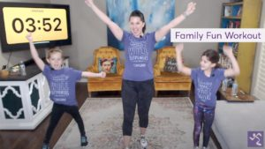 Anytime Fitness Virtual Workout - Fit Family Friday (15 Mins)