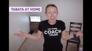 Anytime Fitness Virtual Workout - Tabata Tuesday 2 (20 Mins)
