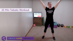 Anytime Fitness Virtual Workout - Tabata Tuesday (25 Mins)