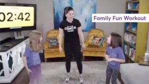 Anytime Fitness Workout #7: Family Fun Workout