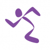 Anytime Fitness Running Man Logo